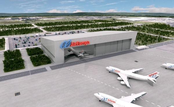la empresa presidida por mauricio toledano encargada del proyecto de swiftair en el aeropuerto de madrid