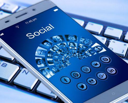 redes sociales para móviles